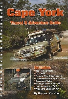 Cape York Travel & Adventure Guide by Ron & Viv Moon *FREE SHIPPING - NEW*