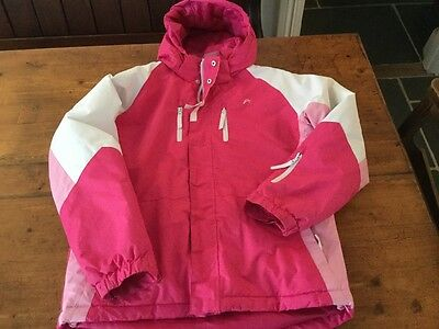 GIRLS SHOWERPROOF PADDED JACKET AGE 11-12 years Great condition