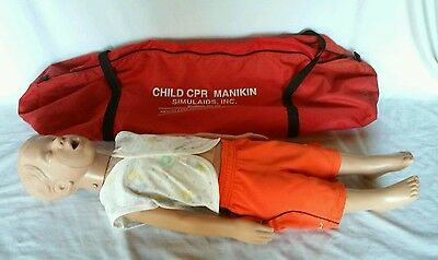 Simulaids Kyle Child CPR Manikin Training Aid
