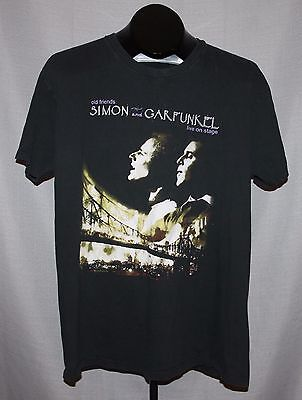 Rare SIMON and GARFUNKEL Old Friends Tour Concert T Shirt ! Live On Stage +