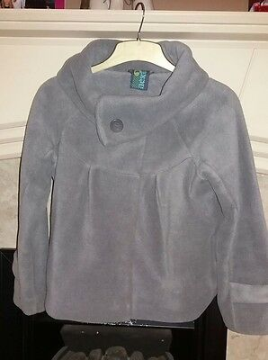 Young girls NEXT Grey rolled neck coat