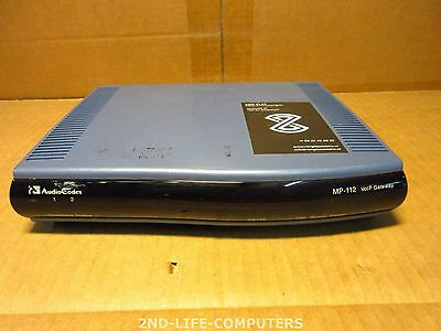 Audiocodes MP-112R/2FXS/3AC 2 port FXS Analog VoIP Gateway GGWV00085 EXCL PSU