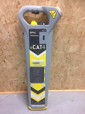 Used - RADIODETECTION eCAT4 CABLE LOCATOR  - 12 months GENUINE RD calibration