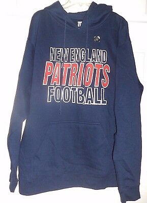 innovative design 7970d 5b773 JUNKFOOD MEN'S NFL New England Patriots Pullover Hoodie, Size XL, New/Tags
