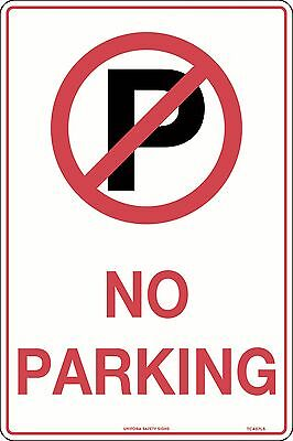 No Parking 450x300mm Metal Traffic Safety Sign
