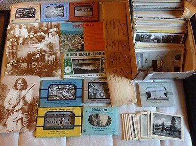 Lot Over 500 Vintage Postcards Post Cards and Travel Photos