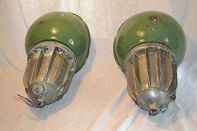 2 Killark Explosion Proof Industrial Light Fixtures Porcelain Industrial