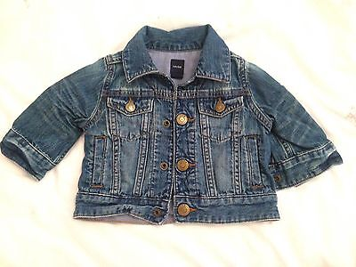 Baby Gap Denim Look Jacket 0-6 Months Unisex
