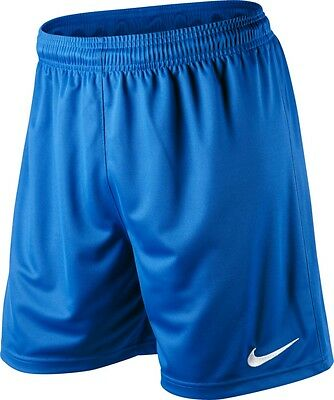 Shorts Football/ Soccer Nike Park Royal Blue Adult Sizes S-Xl