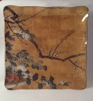 Japanese Square Glass Tray - Museum Shop the Art Institute of Chicago - flowers