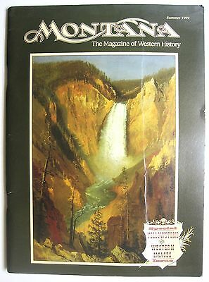 Montana Magazine Western History 1999 Special Issue Yellowstone Photos Paintings