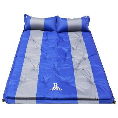 Self Inflating Mattress Sleeping Mats Pad Air Bed Camping Hiking Joinable Single