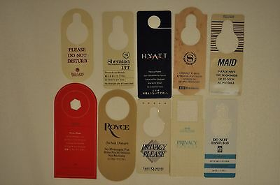 20 Assorted Hotel Hang Tags - All Different (Do Not Disturb)