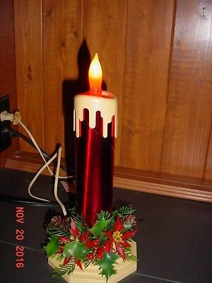 Vintage Christmas Electric Candle