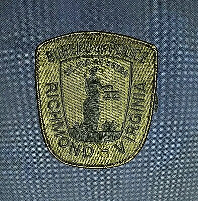 City of Richmond Police, Virginia, Subdued Patch, Sheriff