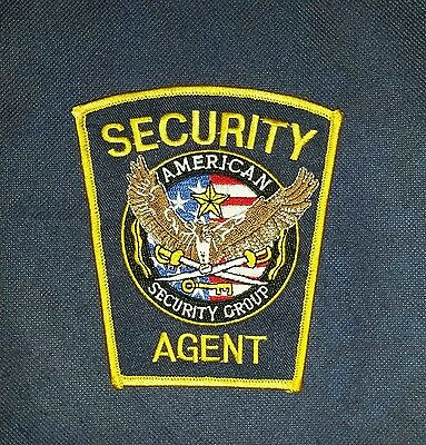 American Security Group, Virginia, Patch, Police, Sheriff