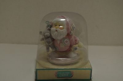 """Vintage """"COLLECTORS Choice""""  SANTA FIGURINE New in Package"""