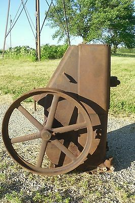 vtg Aermotor WA1 Water Well Pump Jack Windmill Hit & Miss Wheel Industrial Table