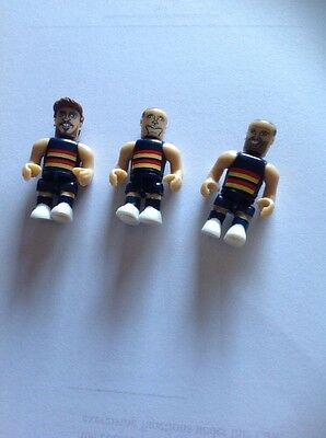AFLColes Micro-Figurines (Crows) Smith, Jacobs And Thompson
