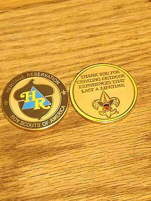 Boy Scout Heritage Reservation Coin Laurel Highlands Greater Pittsburgh Council