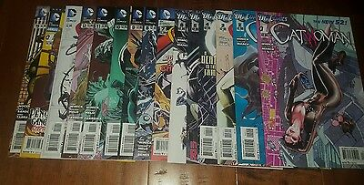 CATWOMAN from #1-25 New 52 Before Rebirth sex with Batman Mature 22 Comic Books