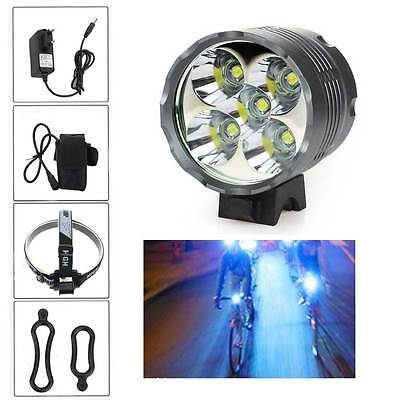 20000 LM 5 CREE T6 LED 3 Modelli Bicicletta Outdoor Testa luce Torcia Frontale