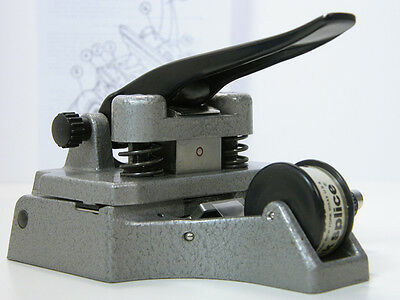 Professional CATOZZO 16MM FILM SPLICER  With Instructions Works Well