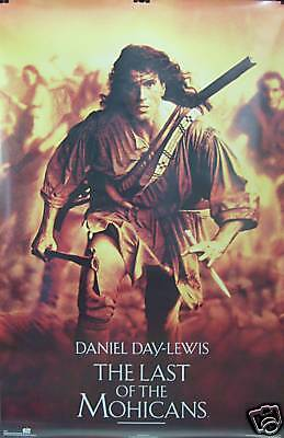 Last Of The Mohicans 23x35 Movie Poster 1992 Daniel Day Lewis