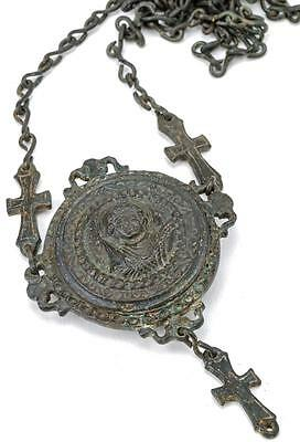 Byzantine Bronze Gasbal Necklace Lot 558