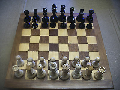 Wooden Vintage Chess Pieces
