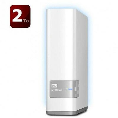 WD My Cloud -NAS/Cloud Personnel 2To WDBCTL0020HWT