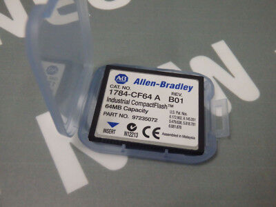1784cf64a - Allen-Bradley - 1784-cf64a / Compact Flash Card 64mb Nuovo