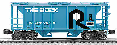 LIONEL 6-27083 Rock Island Scale PS-2 Hopper #500751....Mint in Original Box!
