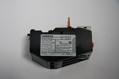 Siemens 3UA52-00-2A Solid State Overload Relay 10.00-16.00 AMP