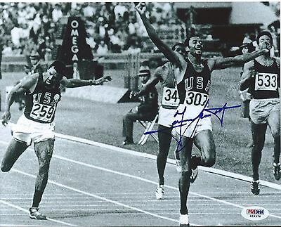 Tommie Smith Signed 8X10 Photo Autographed PSA/DNA COA Olympic Gold USA