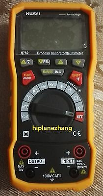 Process Loop Calibrator Current Voltage Frequency Sourcing Output & Multimeter