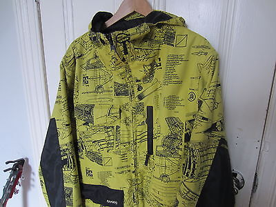 Burton ANALOG Format 2 Reversible Ski Snowboard Jacket 8000K 2016 Medium