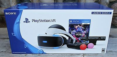 Playstation 4 VR Launch Bundle PS4 Virtual Reality Headset *New! *Same Day Ship!