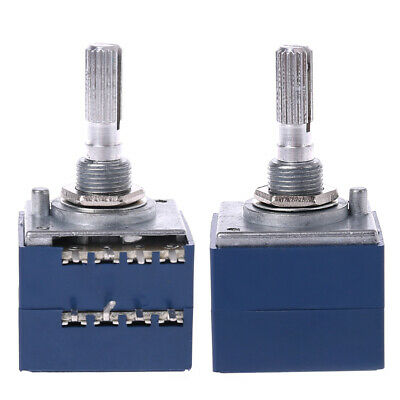 8 Pin A100K 100K Potentiometer RH2702 Serrated Split Shaft 6MM Precision 27-type