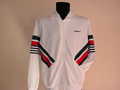 Adidas Blouse 192 8/54 Track Top Jacket 70/80 Vintage Made in France Ventex NEWT