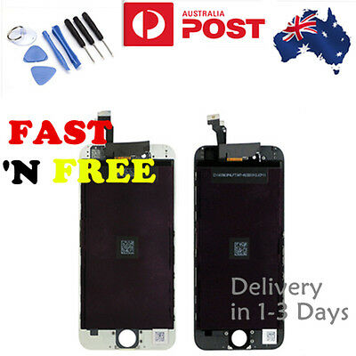 For iPhone 6 Screen Repair LCD Digitizer Touch Replacement Assembly Black White