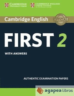 Cambridge First Cert.english 2 St With Answers Revised 15. Libro Nuevo
