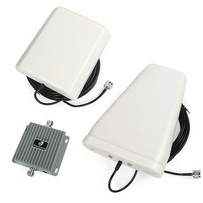 New 3G 850/1900MHZ CellPhone Signal Booster GSM 65dB Repeater Amplifier CA STOCK
