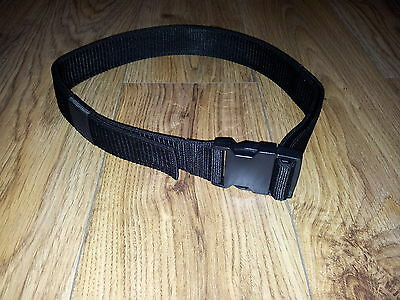 DOUBLE THICKNESS WEBBING QUIVER BELT 38mm QUICK RELEASE BUCKLE