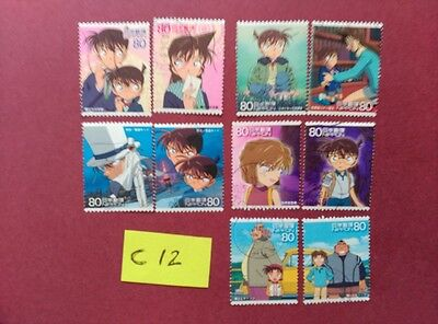 Detective Conan Meitantei Conan   Used Japan Stamps