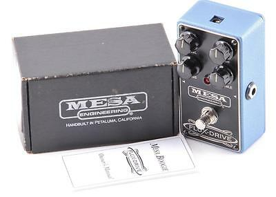 Mesa Boogie Flux Drive Overdrive Guitar Effects Pedal PD-1412