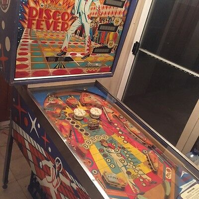 Disco Fever Pinball Machine by Williams