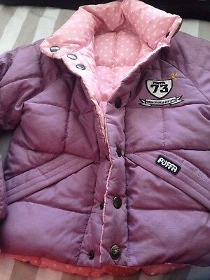 Girls Puffa Jacket 5 Years Old