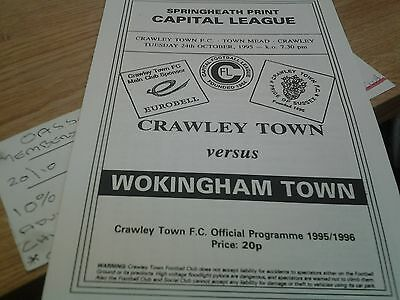 crawley v wokingham 95.96 capitol reserves lge