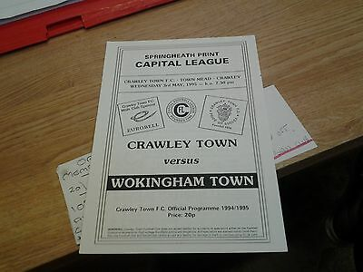 crawley v wokingham 94.95 capitol reserves lge